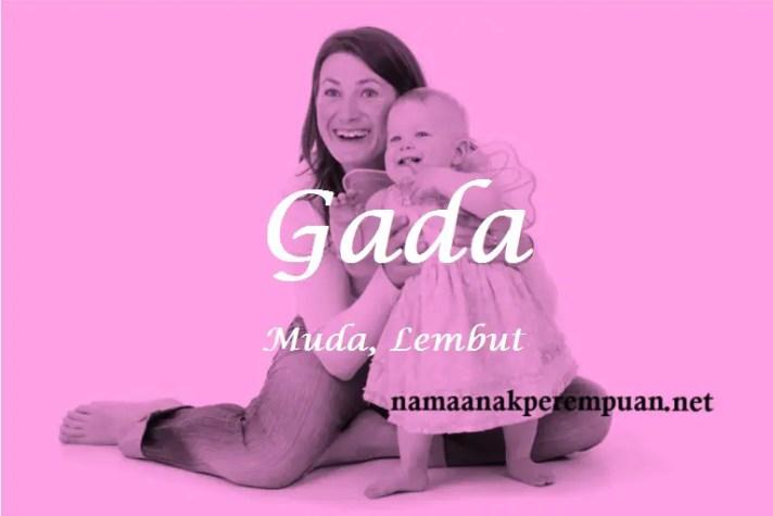 arti nama Gada