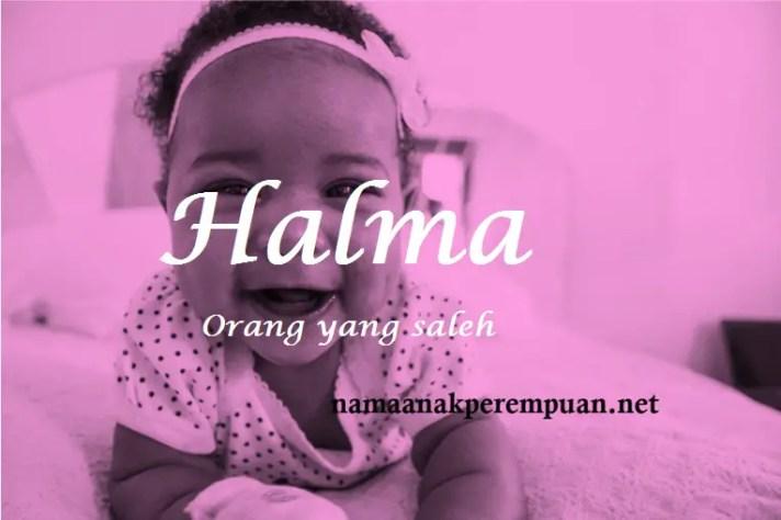 arti nama Halma