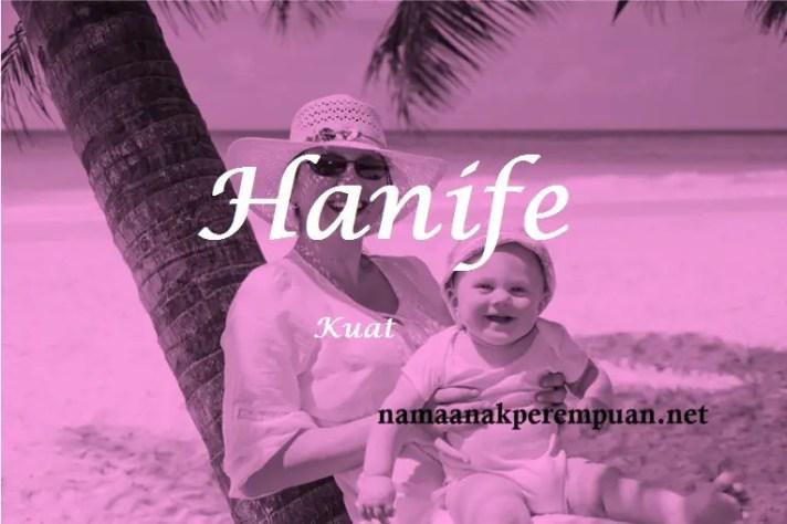 arti nama Hanife