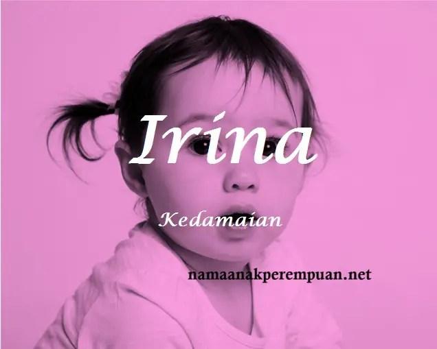 arti nama Irina