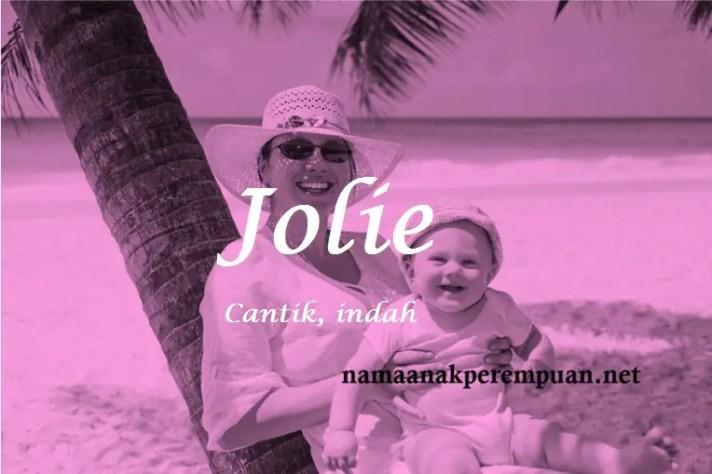 arti nama Jolie