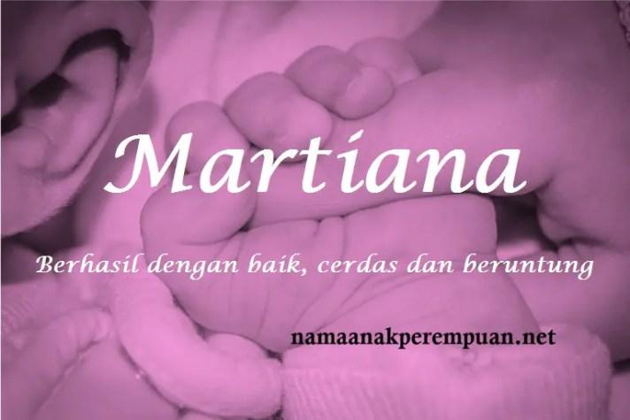 arti nama Martiana