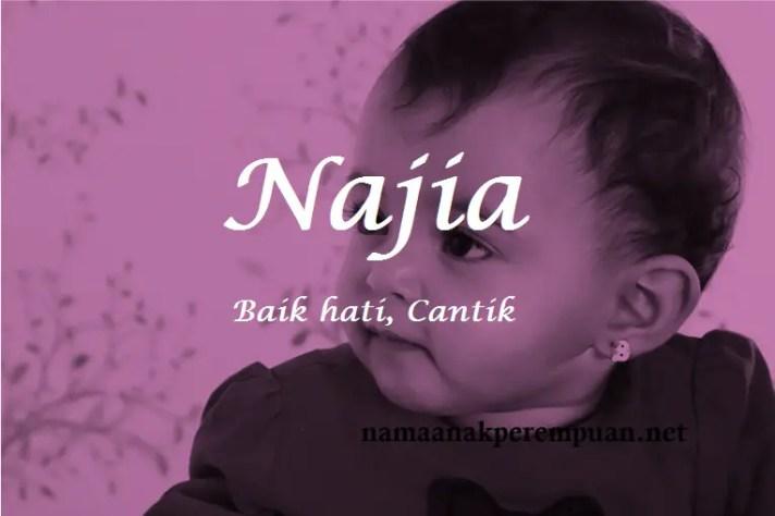 arti nama Najia