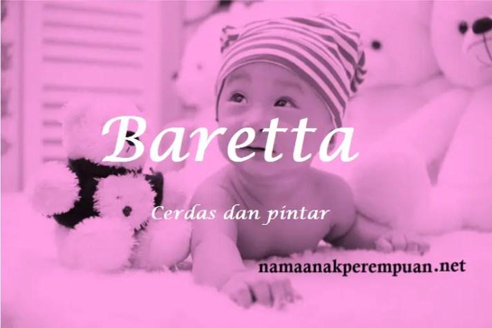 arti nama Baretta