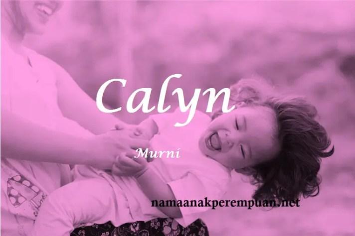 arti nama Calyn