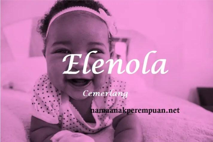 arti nama Elenola