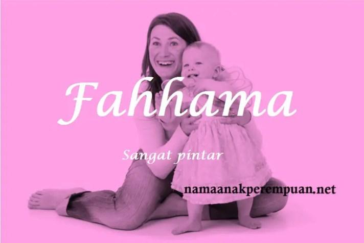 arti nama Fahhama