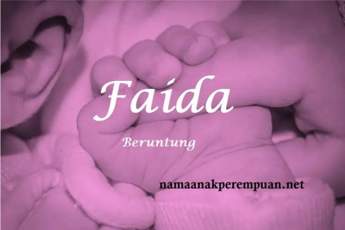 arti nama Faida
