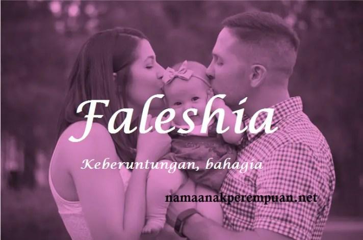 arti nama Faleshia