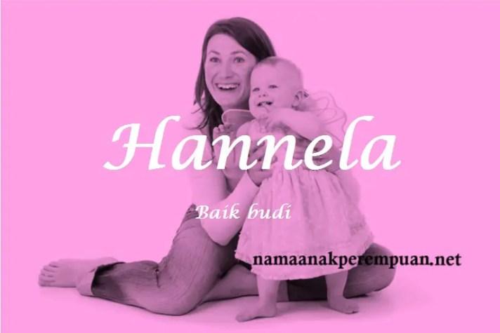 arti nama Hannela