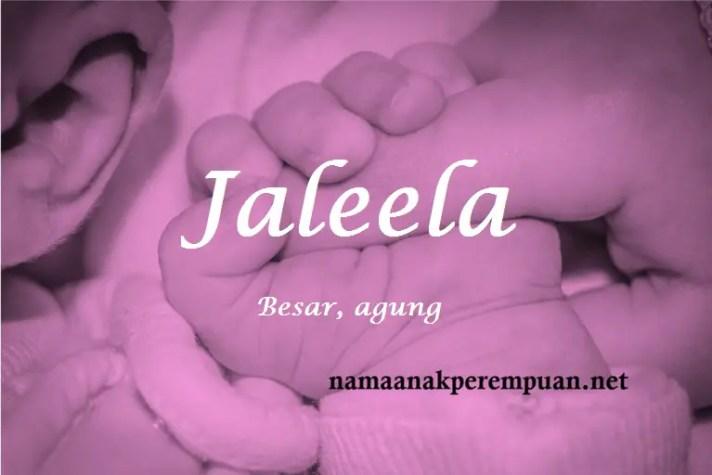 arti nama Jaleela