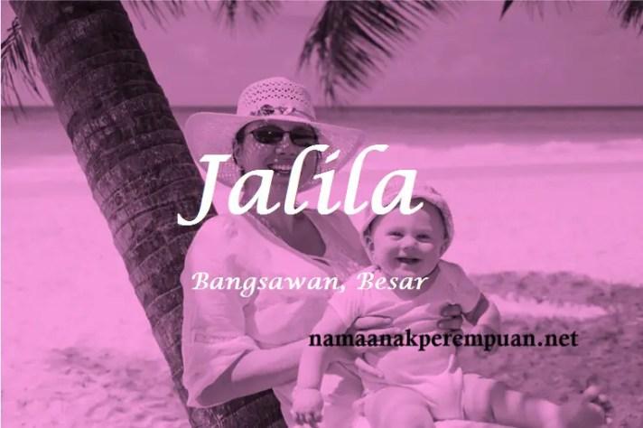 arti nama Jalila