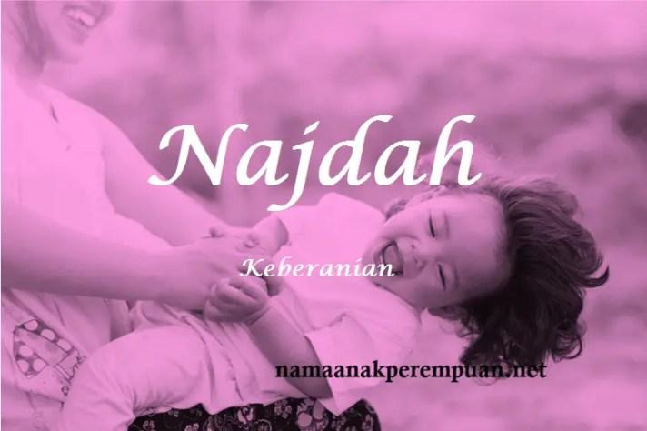 arti nama Najdah
