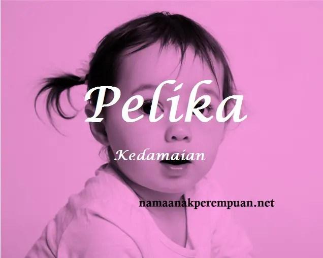 arti nama Pelika