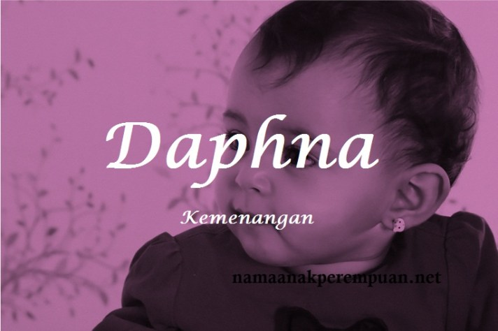 arti nama Daphna