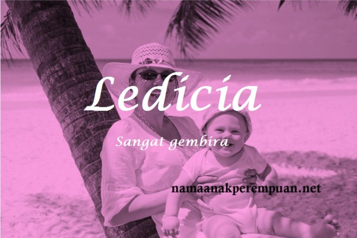 arti nama Ledicia