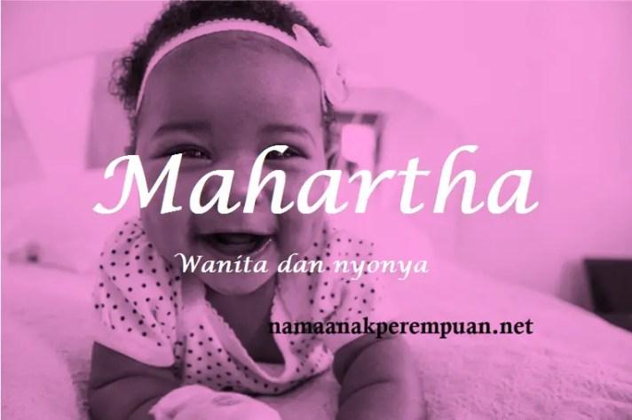 arti nama Mahartha