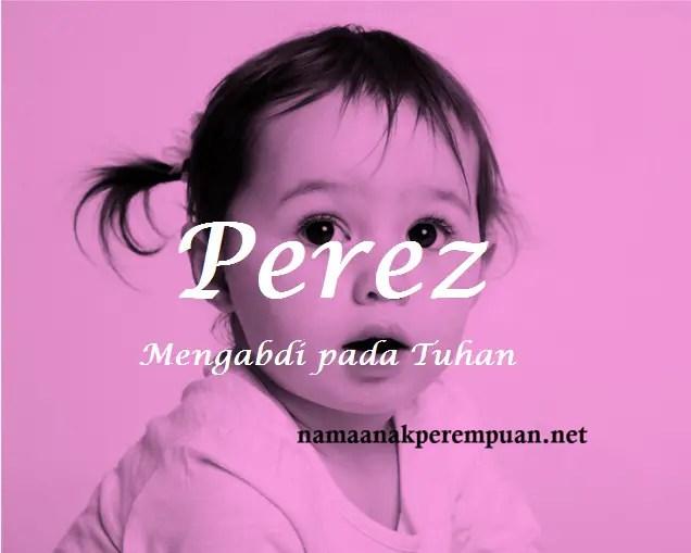 arti nama Perez