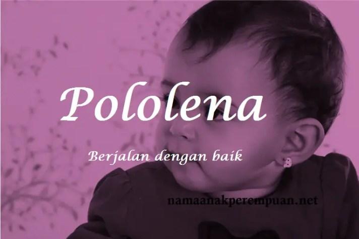 arti nama Pololena