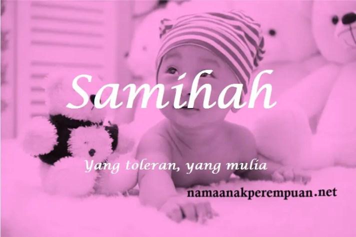 arti nama Samihah