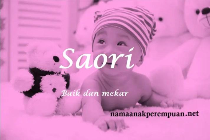 arti nama Saori