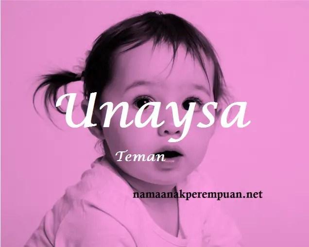 arti nama Unaysa