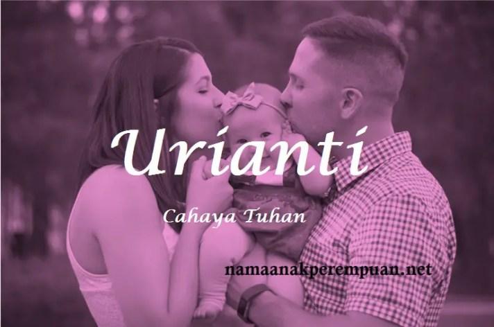 arti nama Urianti