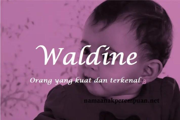 arti nama Waldine