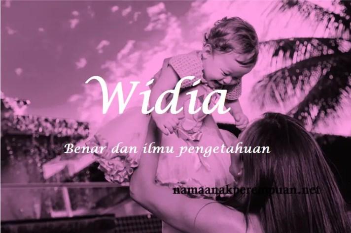 arti nama Widia