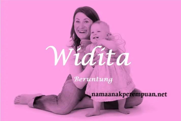 arti nama Widita