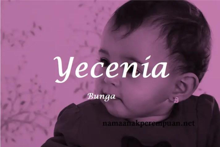 arti nama Yecenia