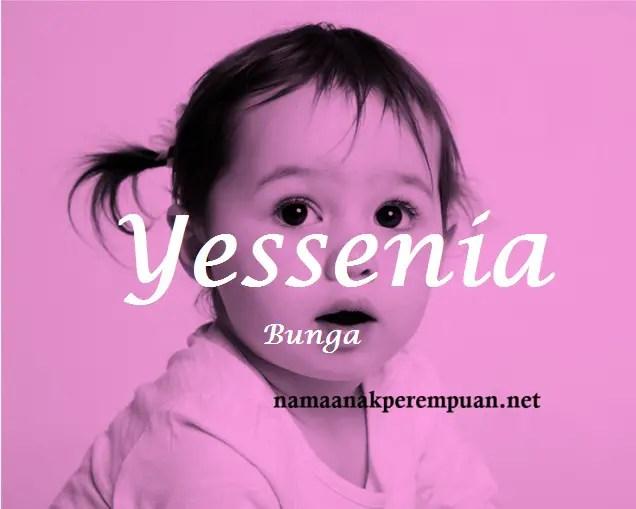 arti nama Yessenia