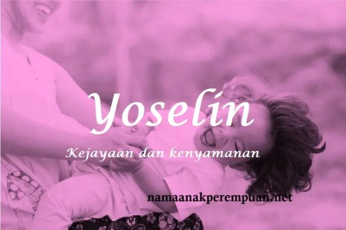 arti nama Yoselin