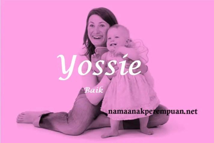 arti nama Yossie
