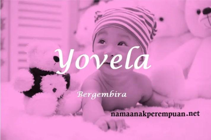 arti nama Yovela