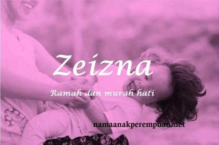 arti nama Zeizna