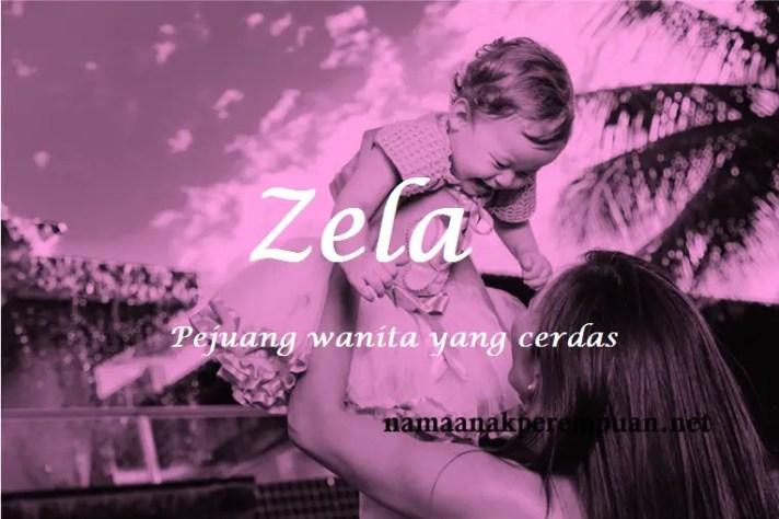 arti nama Zela