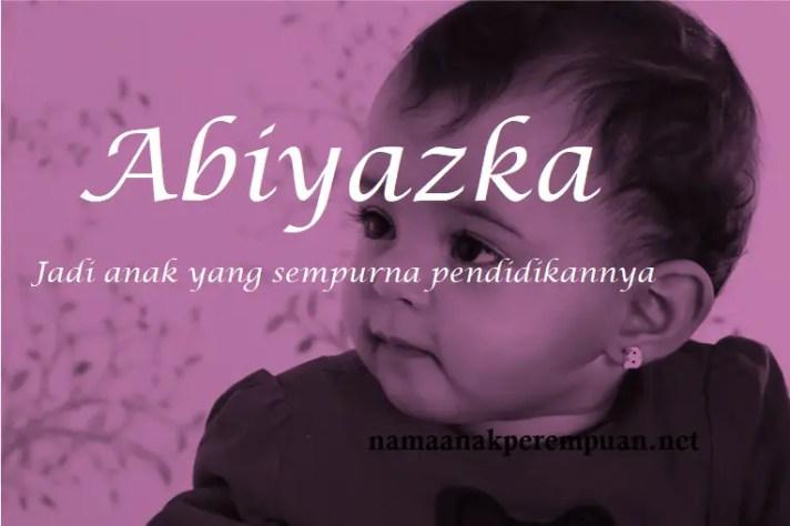 arti nama Abiyazka