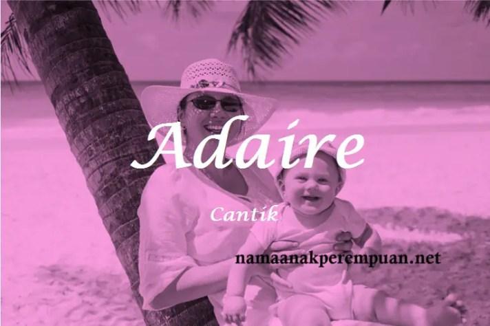 arti nama Adaire