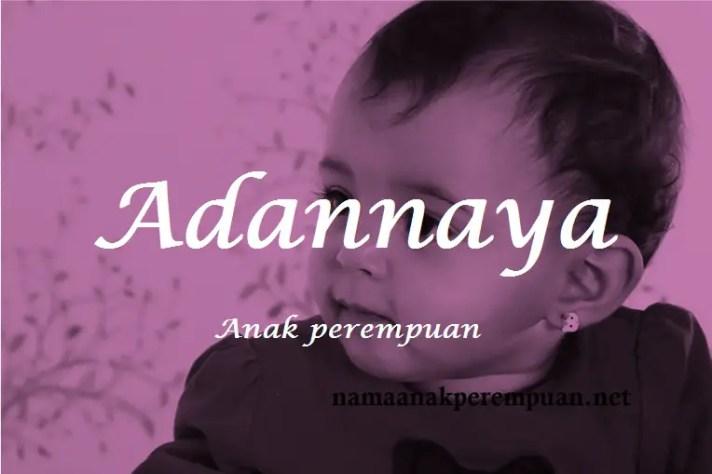 arti nama Adannaya