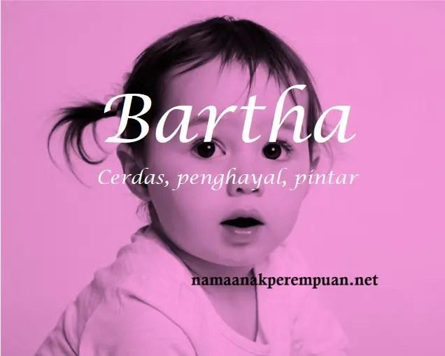 arti nama Bartha