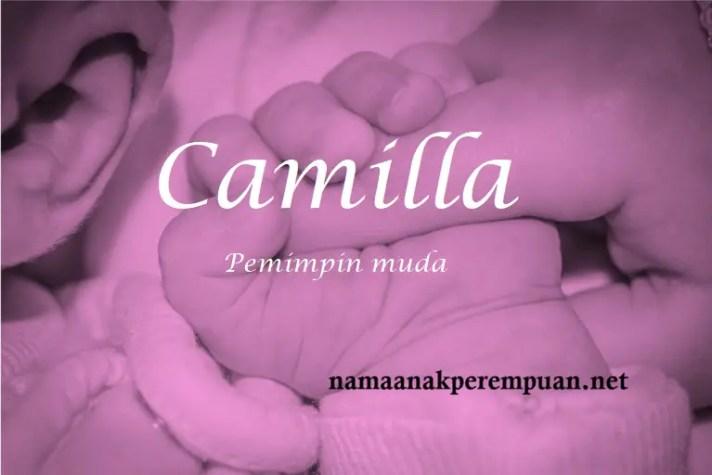 arti nama Camilla