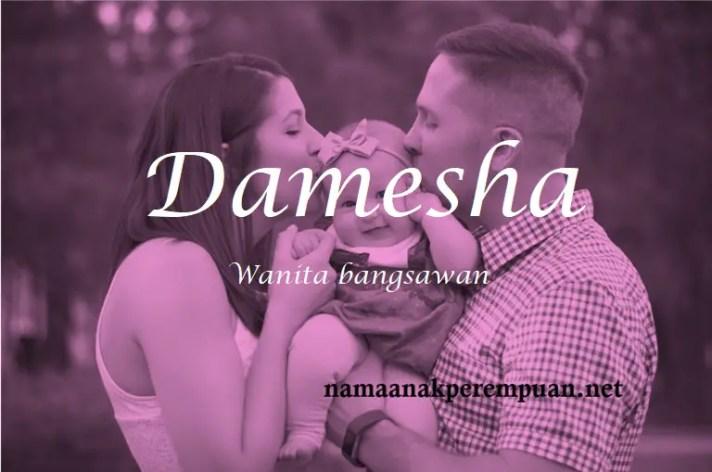 arti nama Damesha