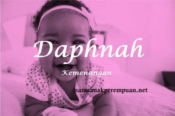 arti nama Daphnah