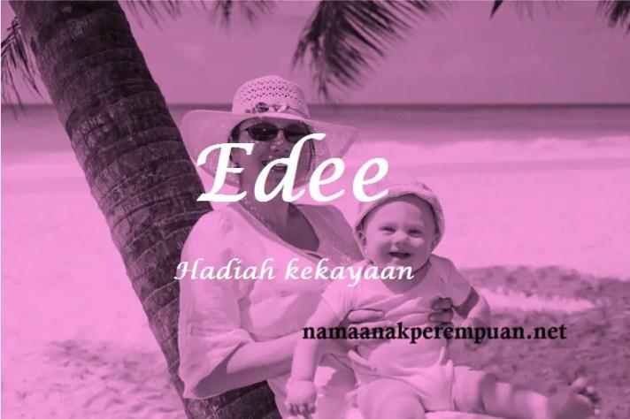 arti nama Edee