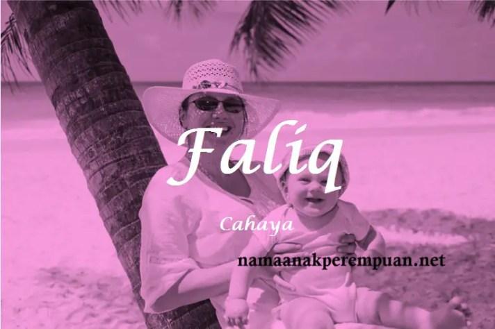 arti nama Faliq
