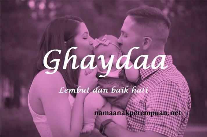 arti nama Ghaydaa