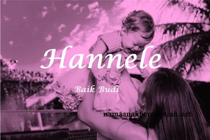 arti nama Hannele