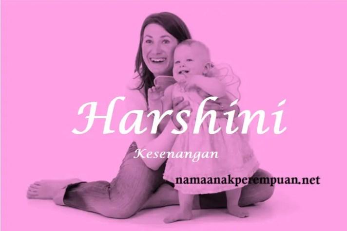 arti nama Harshini