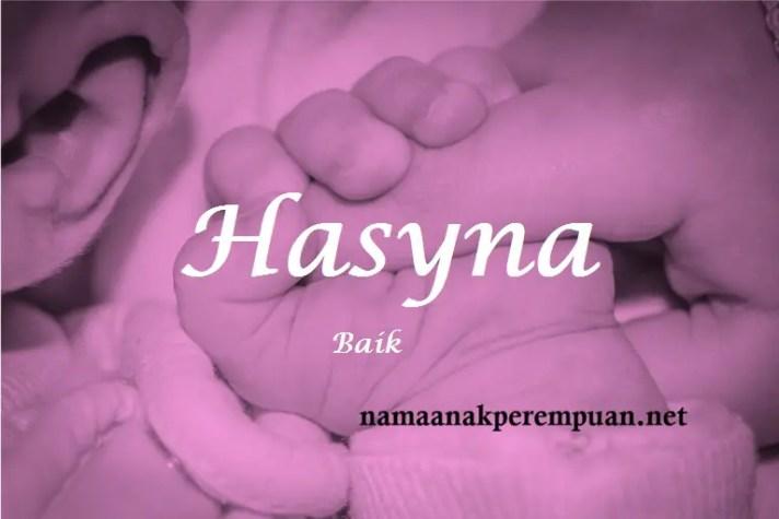 arti nama Hasyna